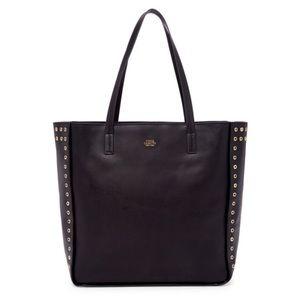 Vince Camuto Punky Leather Tote Shoulder Handbag